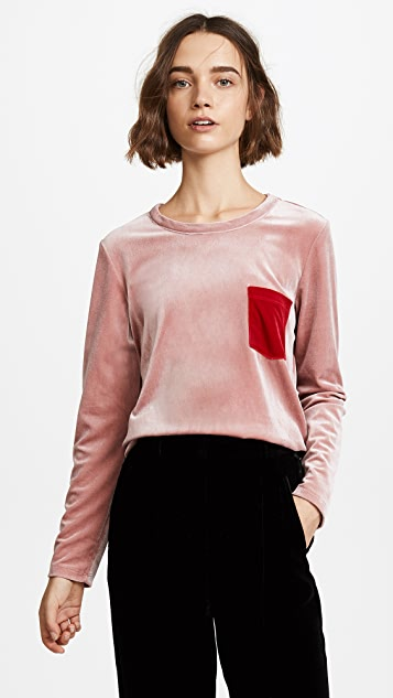 Liana Clothing Pocket Pullover