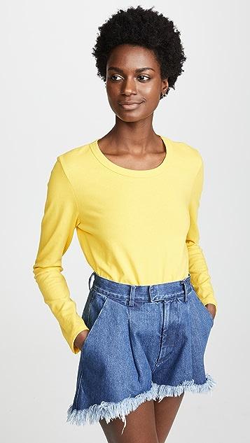 Liana Clothing The Millie Tee - Bright Yellow