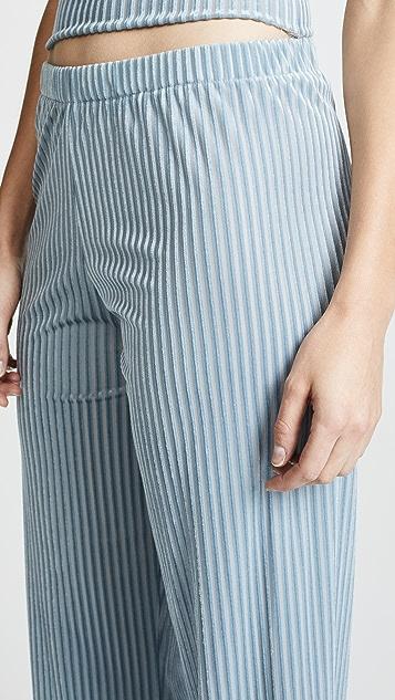 Liana Clothing Burnout Pants