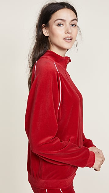 Liana Clothing The Plush Zip Up Tee