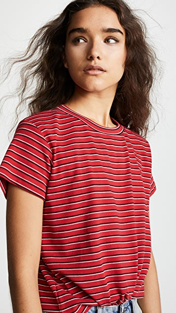 Liana Clothing The Vintage Stripe Essentials Tee 2 Pack
