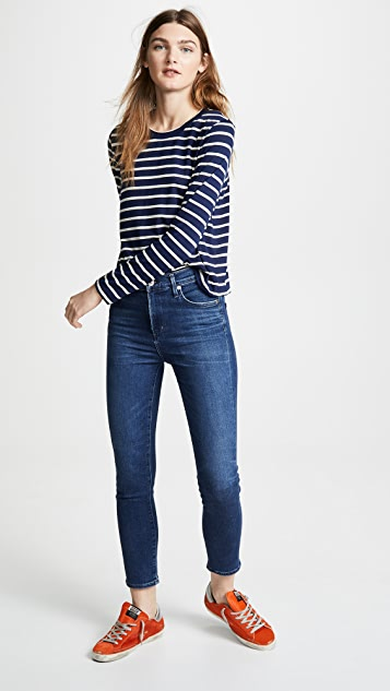 Liana Clothing The Striped Millie Tee