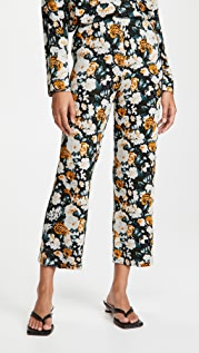Leset Lori Floral Brushed Pants