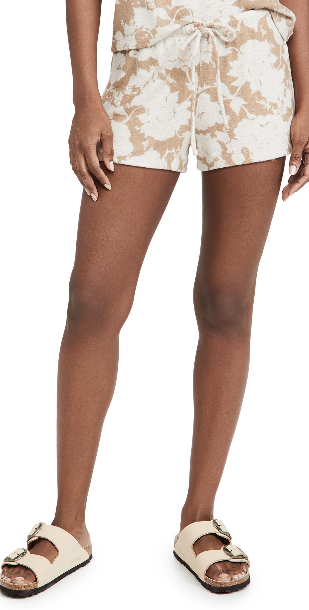 Lori Floral Drawstring Shorts
