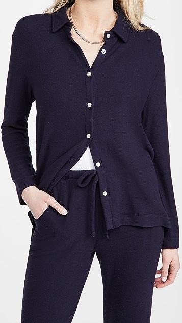 Leset Lori 针织系扣衬衫