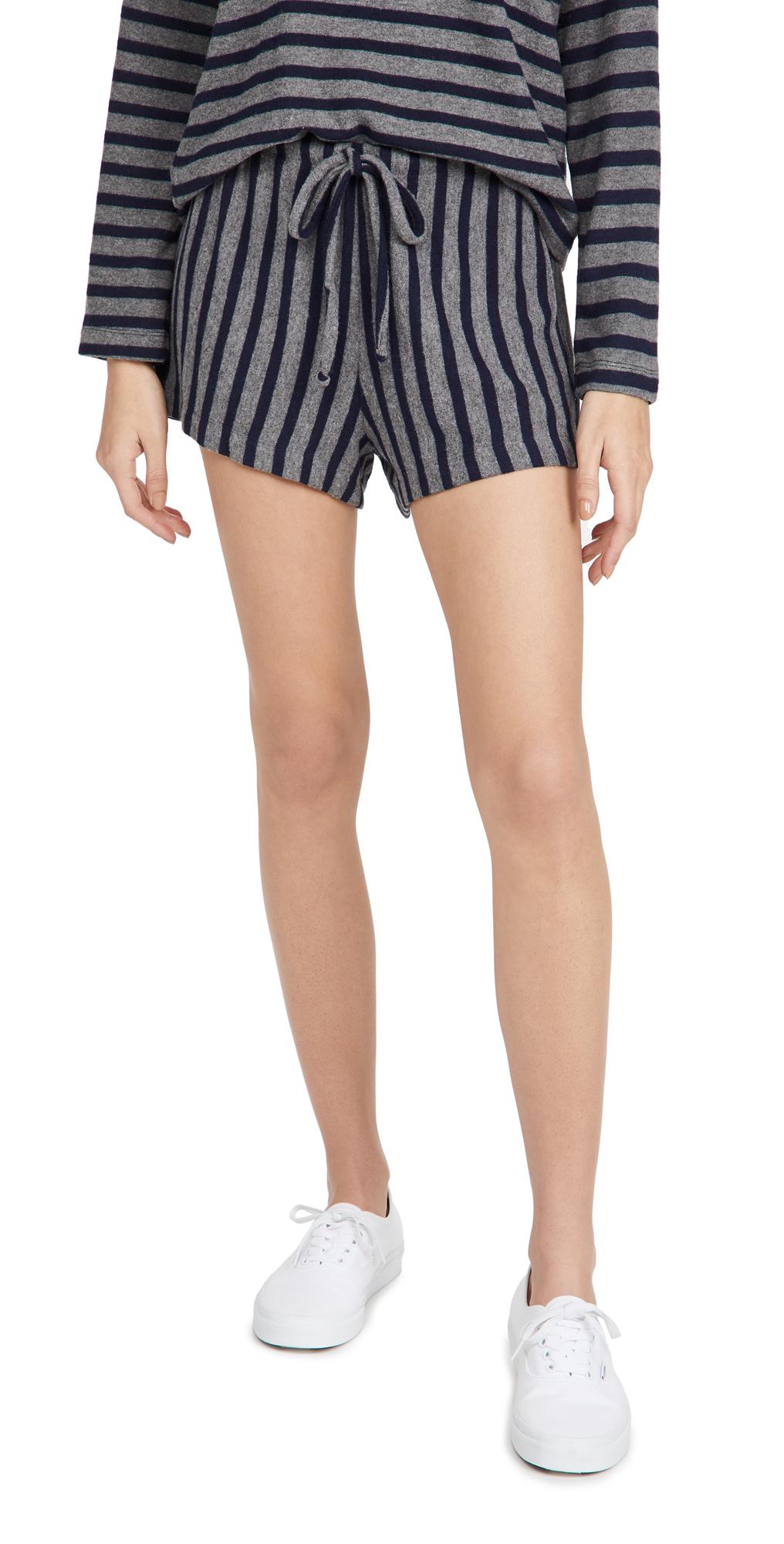 Lori Stripe Drawstring Shorts