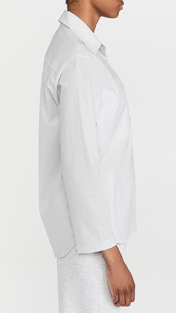 Leset Elle Oversized Button Down Shirt