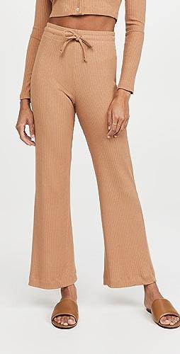 Leset - Ali Drawstring Wide Leg Pants