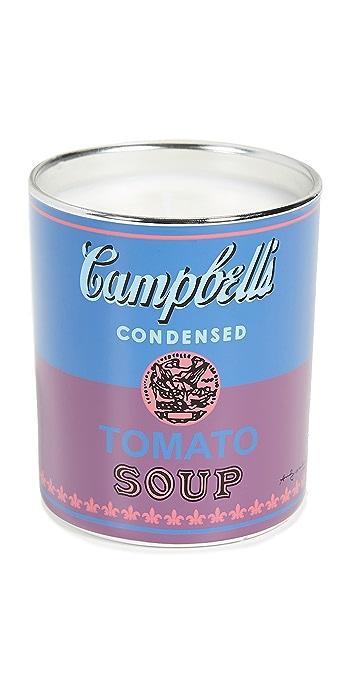Ligne Blanche Campbell Candle - Blue/Purple