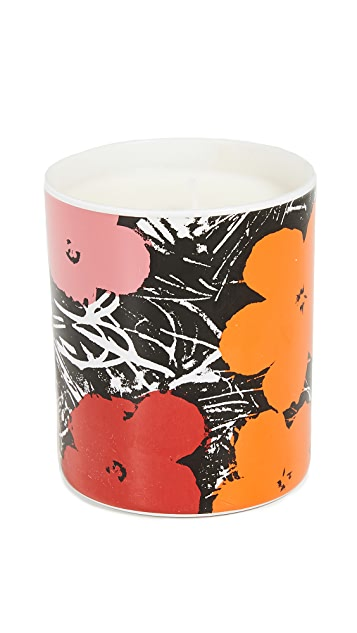 Ligne Blanche x Andy Warhol Flower Candle