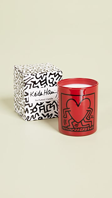 Ligne Blanche Running Heart Candle