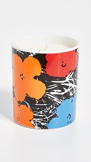 Ligne Blanche Andy Warhol Flower Candle