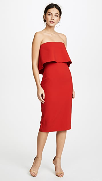 LIKELY Driggs Dress - Scarlet