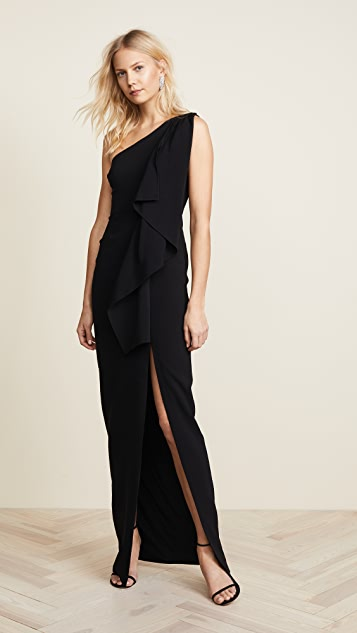 LIKELY Sienna Gown - Black