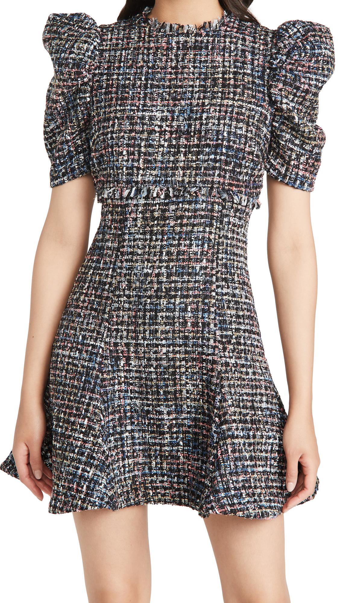 LIKELY Multi Tweed Alia Dress