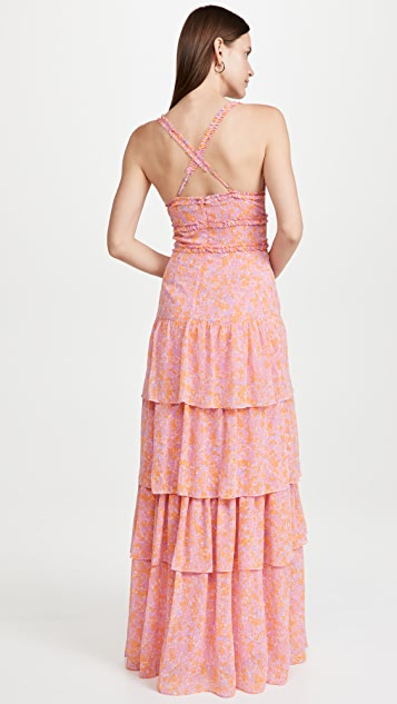 LIKELY Athena Maxi Dress