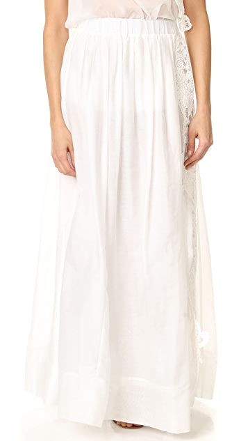 LILA.EUGENIE Side Slit Skirt