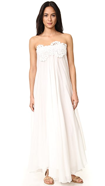 LILA.EUGENIE Maxi Sun Wrap Dress