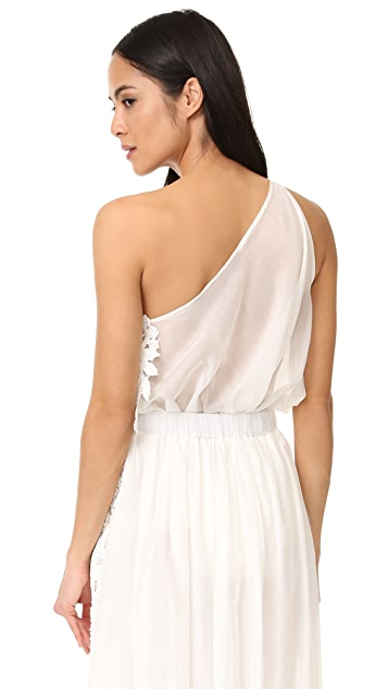 LILA.EUGENIE One Shoulder Top