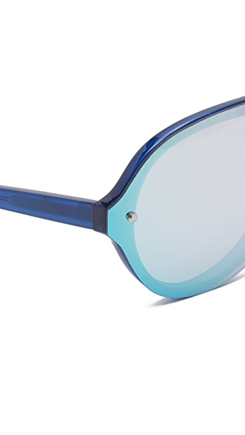 Linda Farrow for 3.1 Phillip Lim Mirrored Sunglasses
