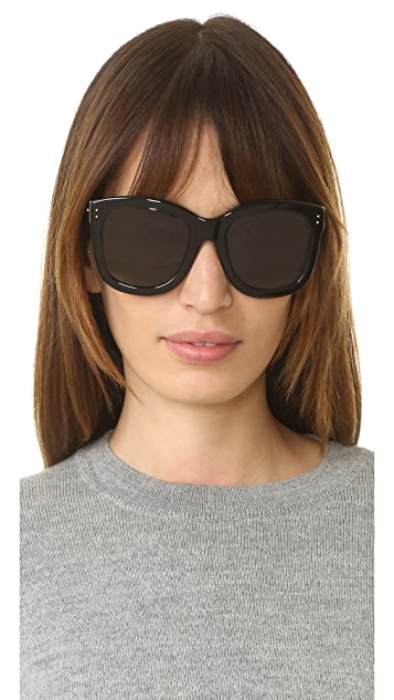 Linda Farrow Luxe Square Sunglasses