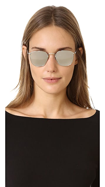 Linda Farrow Luxe Mirrored Sunglasses