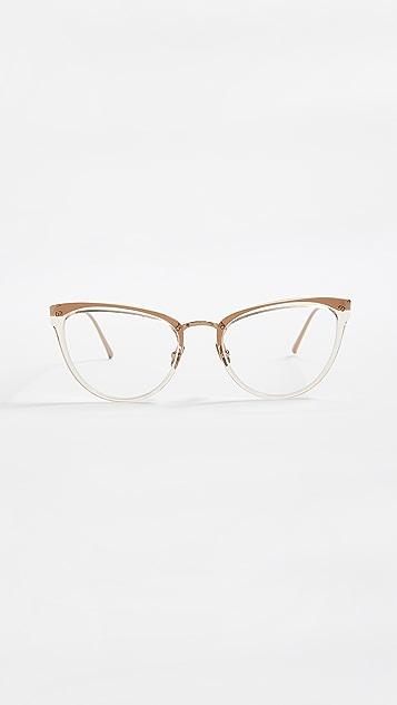 Linda Farrow Luxe Cat Eye Glasses
