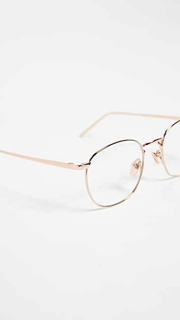Linda Farrow Luxe Round Glasses