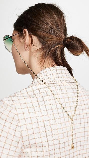 Linda Farrow Luxe Linda Farrow Sunglass Chain