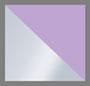 Silver/Violet