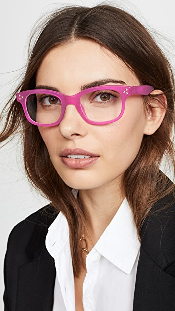 Linda Farrow Luxe Matthew Williamson x Linda Farrow Square Glasses