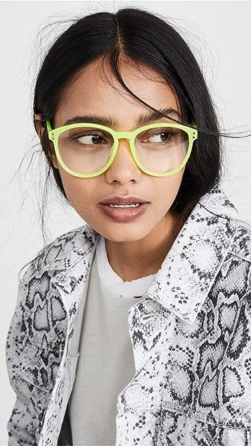 Linda Farrow Luxe Большие квадратные солнцезащитные очки Matthew Williamson x Linda Farrow