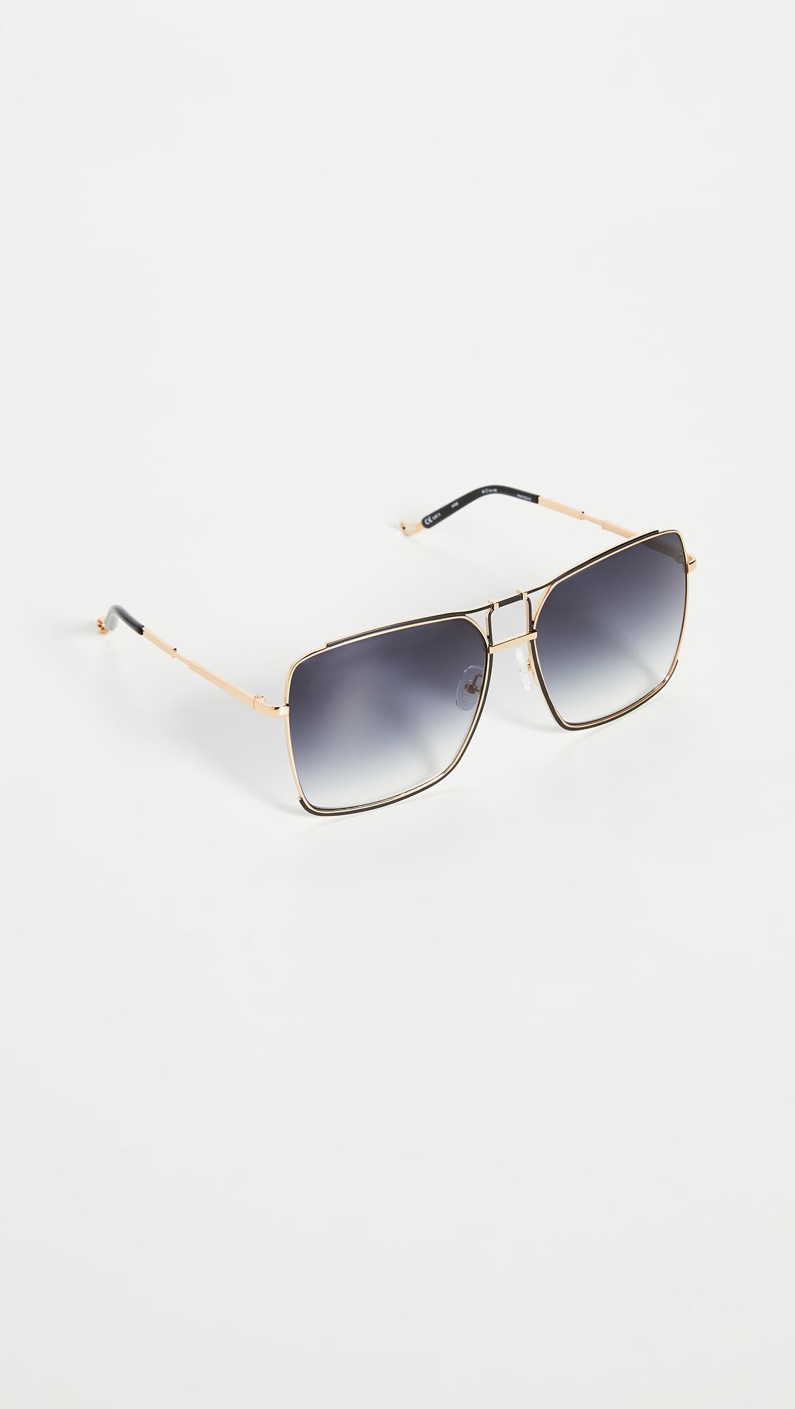 Linda Farrow Luxe Mathew Williamson x Linda Farrow Square Sunglasses