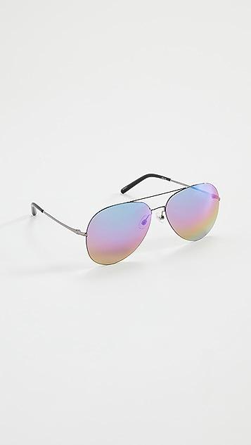 Linda Farrow Luxe Mathew Williamson x Linda Farrow Aviator Sunglasses