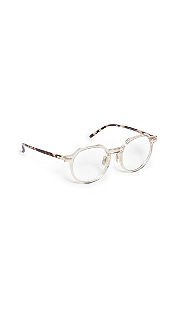 Linda Farrow Luxe Linear Griffin Glasses