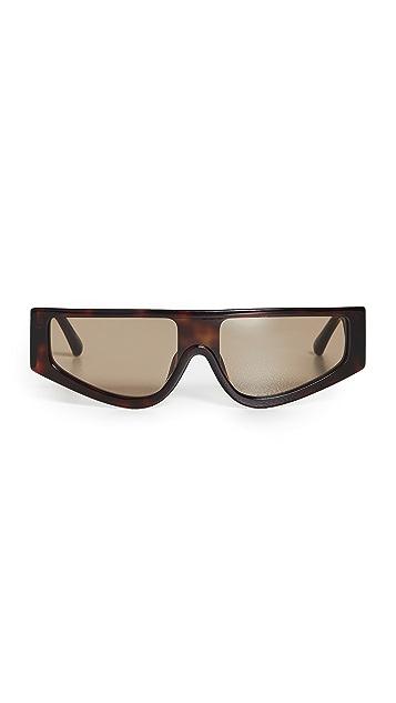 Linda Farrow Luxe x Magda Shield Sunglasses