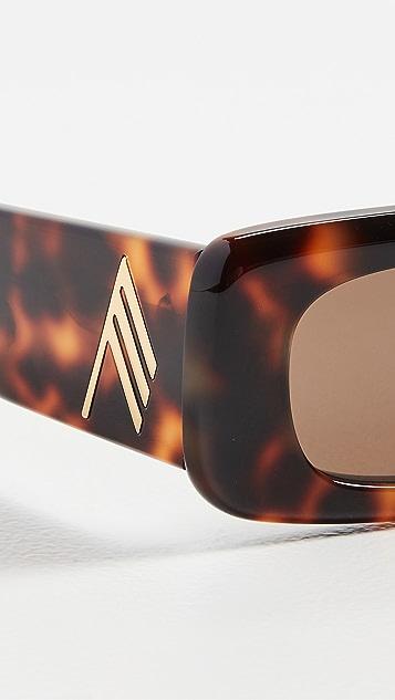 Linda Farrow Luxe x Attico Mini Marfa Sunglasses