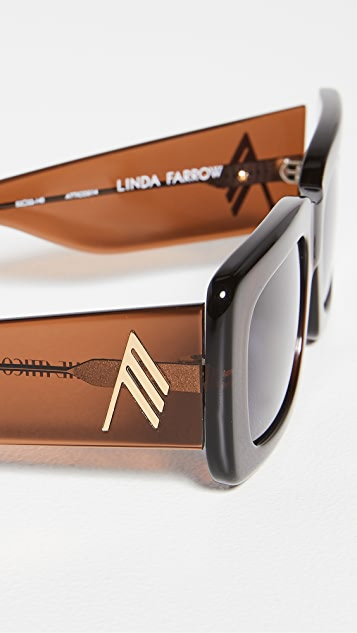 Linda Farrow Luxe x Attico Marfa Sunglasses