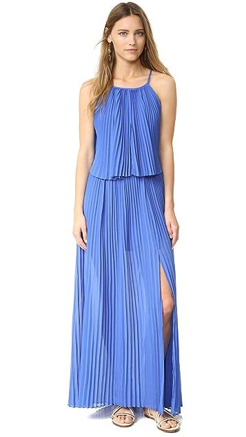 Line & Dot Amelie Pleat Dress