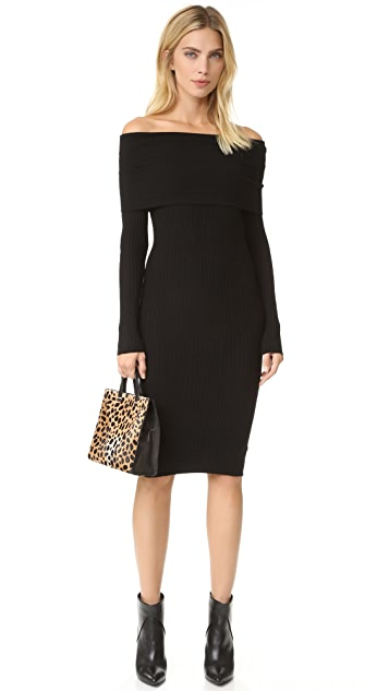Line & Dot Lea Off Shoulder Dress