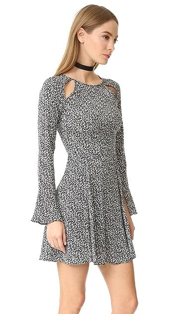 Line & Dot Camellia Slash Dress