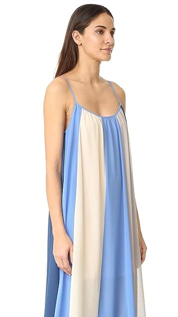 Line & Dot El Ray Color Block Maxi Dress