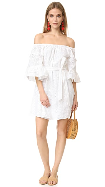 Line & Dot Celia Peasant Dress