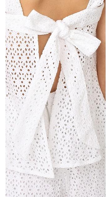 Line & Dot Gaby Tie Top