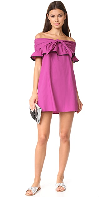 Line & Dot Lorena Off the Shoulder Dress
