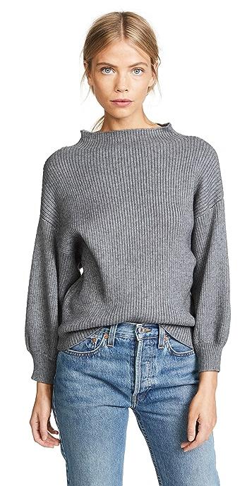 Line and Dot Alder Sweater - Grey