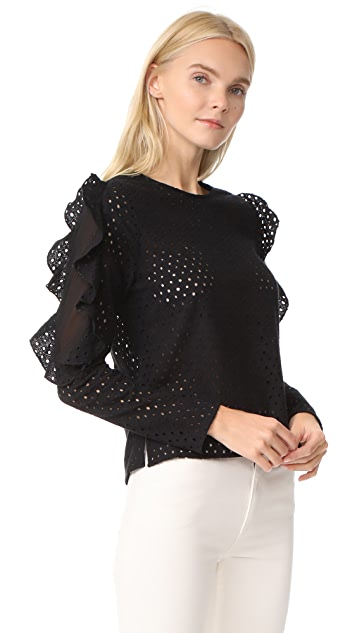 Line & Dot Maura Top