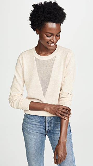 Line & Dot Mia Contrast Sweater