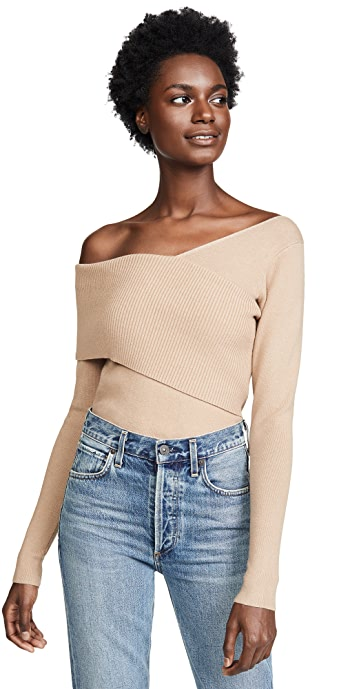 Line and Dot Sylvie Sweater - Sand