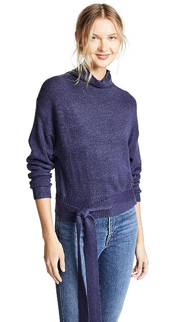 Line & Dot Oriana Tied Sweater